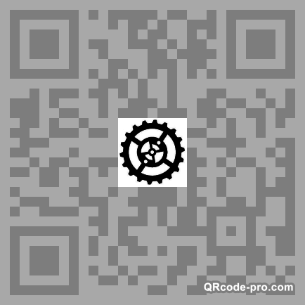QR code with logo 10Bd0
