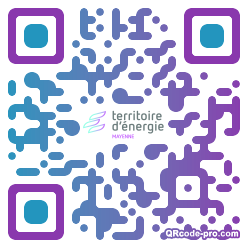 QR code with logo 10D10