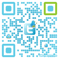QR code with logo 10Ox0