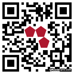 QR code with logo 10Rf0