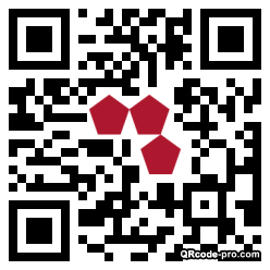 QR code with logo 10Ro0