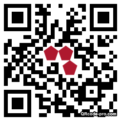 QR code with logo 10Rx0