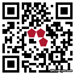 QR code with logo 10S70