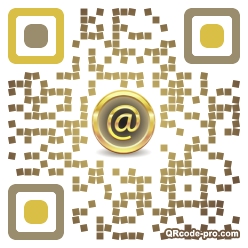 QR code with logo 119A0