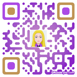 QR code with logo 119D0