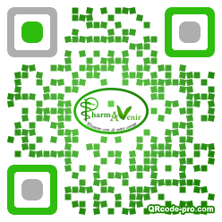QR code with logo 11Lj0