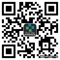QR code with logo 11R40
