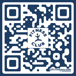 QR code with logo 11Th0