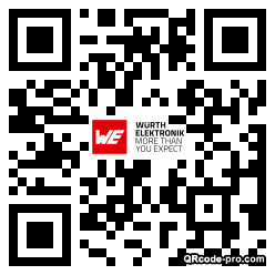 QR code with logo 124k0