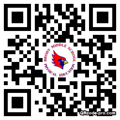 QR code with logo 128H0