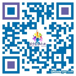 QR code with logo 12Iq0