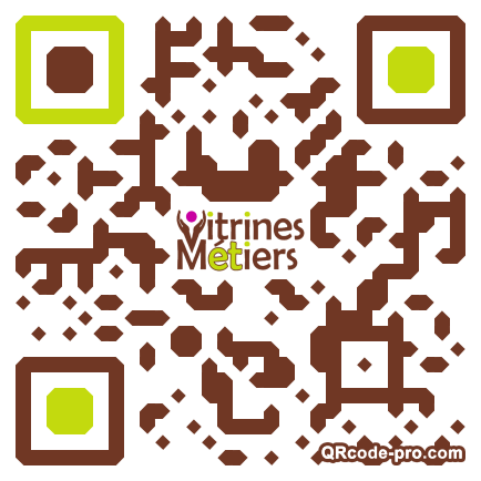 QR code with logo 12X00