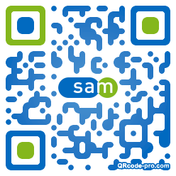 QR code with logo 12st0