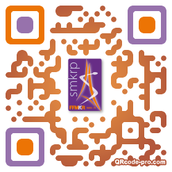 QR code with logo 12v30