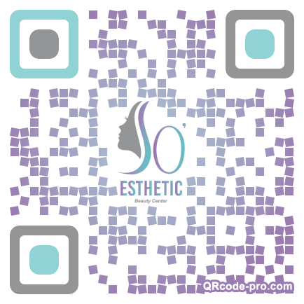 QR code with logo 132B0
