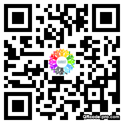 QR code with logo 13Ab0