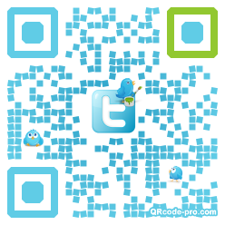 QR code with logo 13Hb0