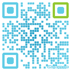 QR code with logo 13Hd0