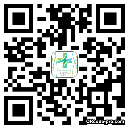 QR code with logo 13Hy0