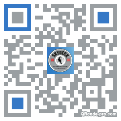 QR code with logo 13Jt0