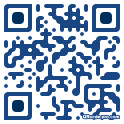 QR code with logo 13Tw0