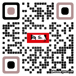 QR code with logo 13in0
