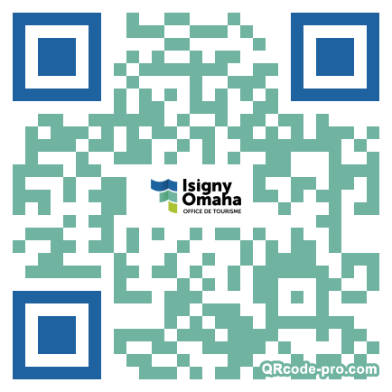 QR code with logo 13s20