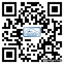 QR code with logo 14Pa0