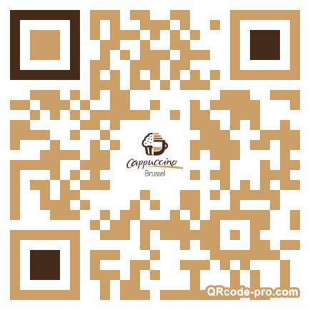 QR code with logo 14R20