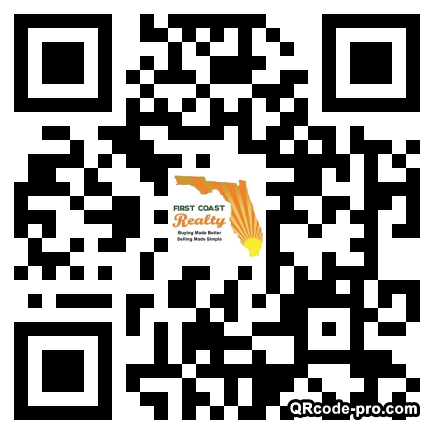 QR code with logo 14m40
