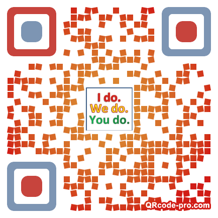 QR code with logo 14pY0