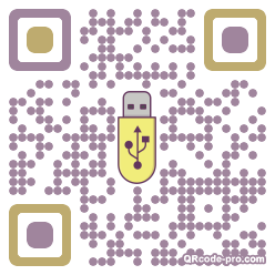 QR code with logo 14tV0