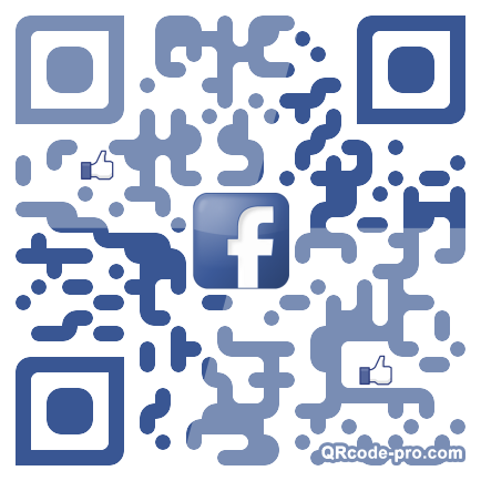 QR code with logo 154B0