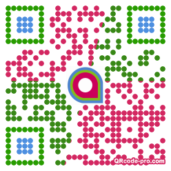 QR code with logo 154m0