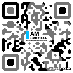 QR code with logo 15A40