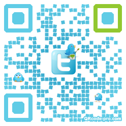 QR code with logo 15Tr0