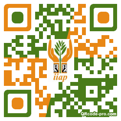QR code with logo 15Wx0