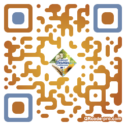QR code with logo 15vS0