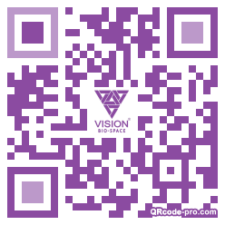 QR code with logo 16Pr0