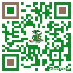 QR code with logo 16oZ0