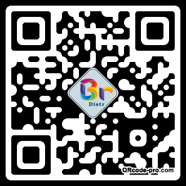 QR code with logo 175g0