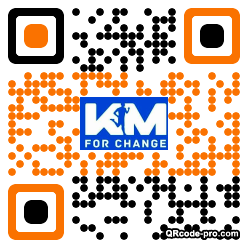 QR code with logo 17Aw0