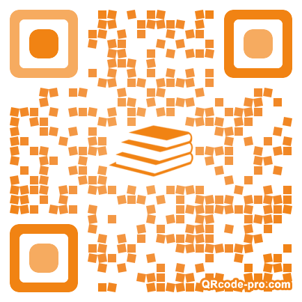 QR code with logo 17Bp0