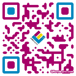 QR code with logo 17Na0