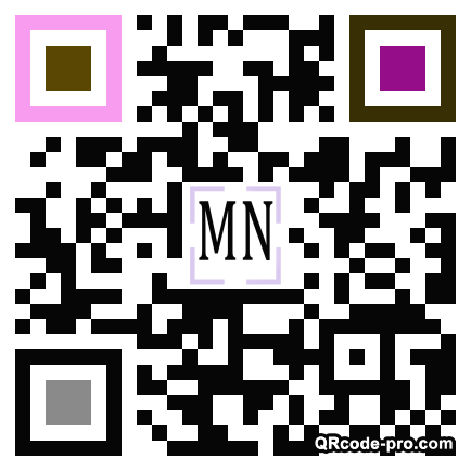 QR code with logo 17Q50