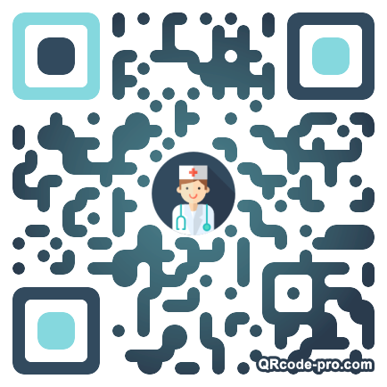 QR code with logo 17pl0