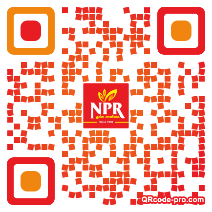 QR code with logo 17ps0