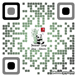 QR code with logo 17zF0