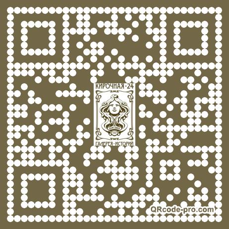 QR code with logo 180e0