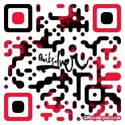 QR code with logo 181z0